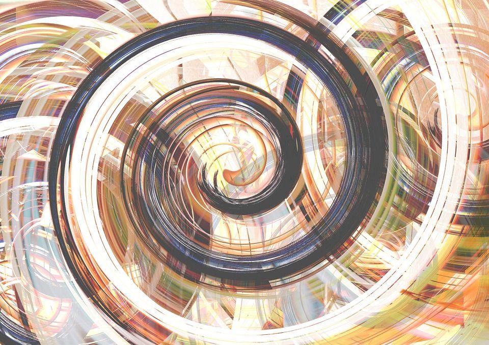 A swirly image