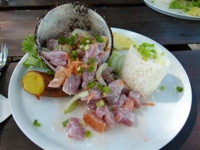 Salade tahitienne