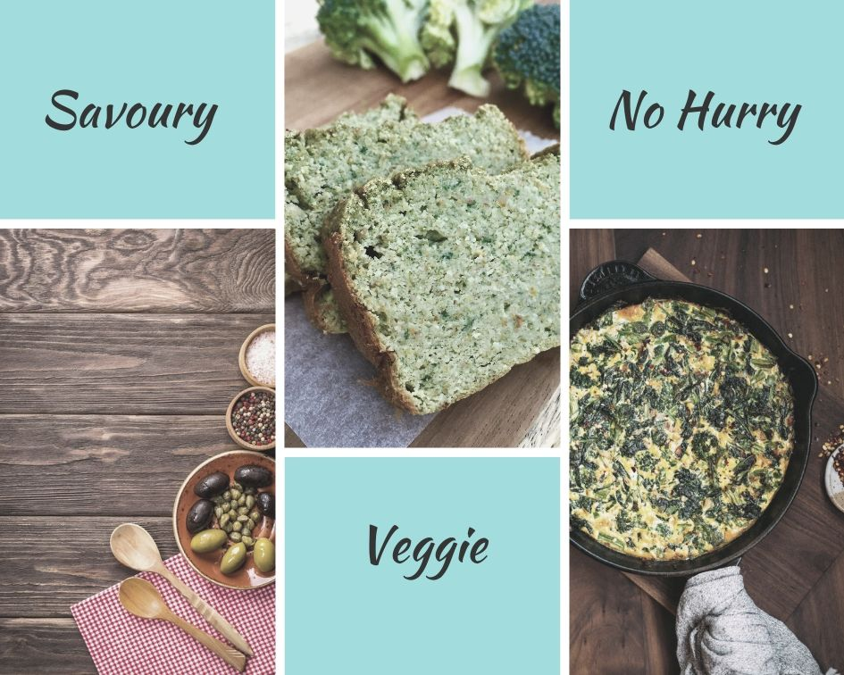 Anti boring breakfast - Savoury Veggie NoHurry