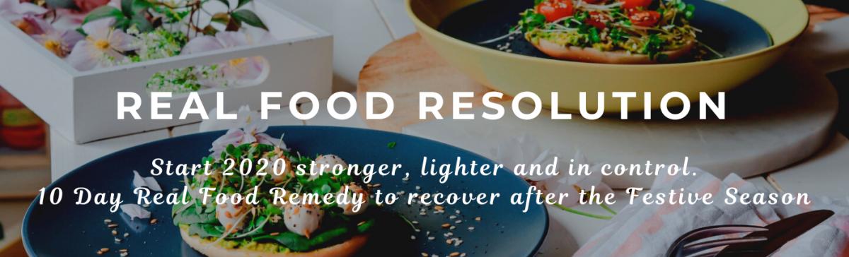 REAL FOOD RESOLUTION