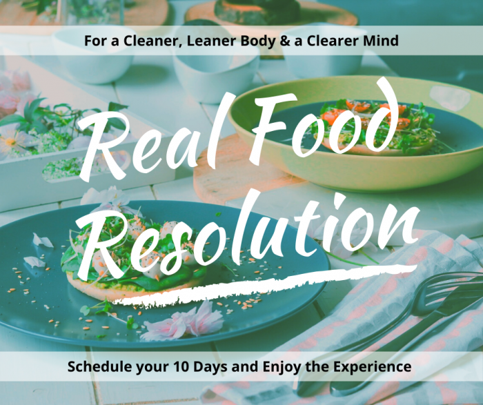 Real Food Resolution